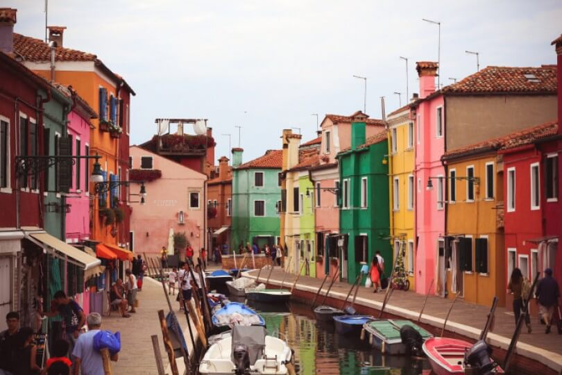 Postcards from Burano
