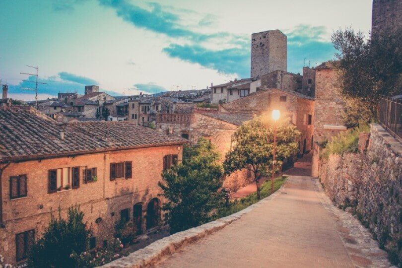 Postcards from San Gimignano