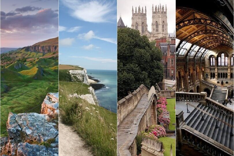 14 Places to Visit in England and Wales