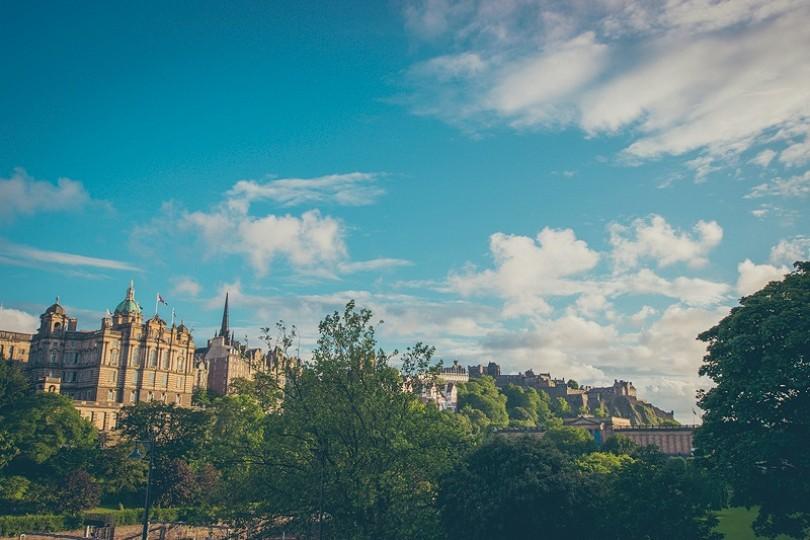 Postcards from Edinburgh