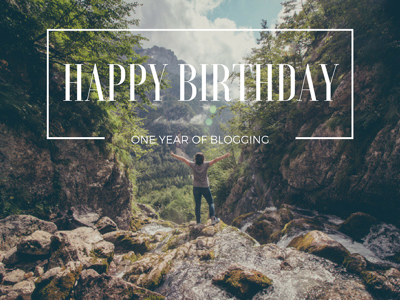 Happy Birthday: One Year of Blogging