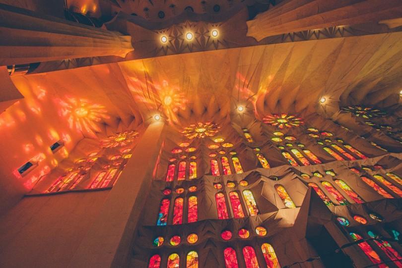Visiting La Sagrada Familia