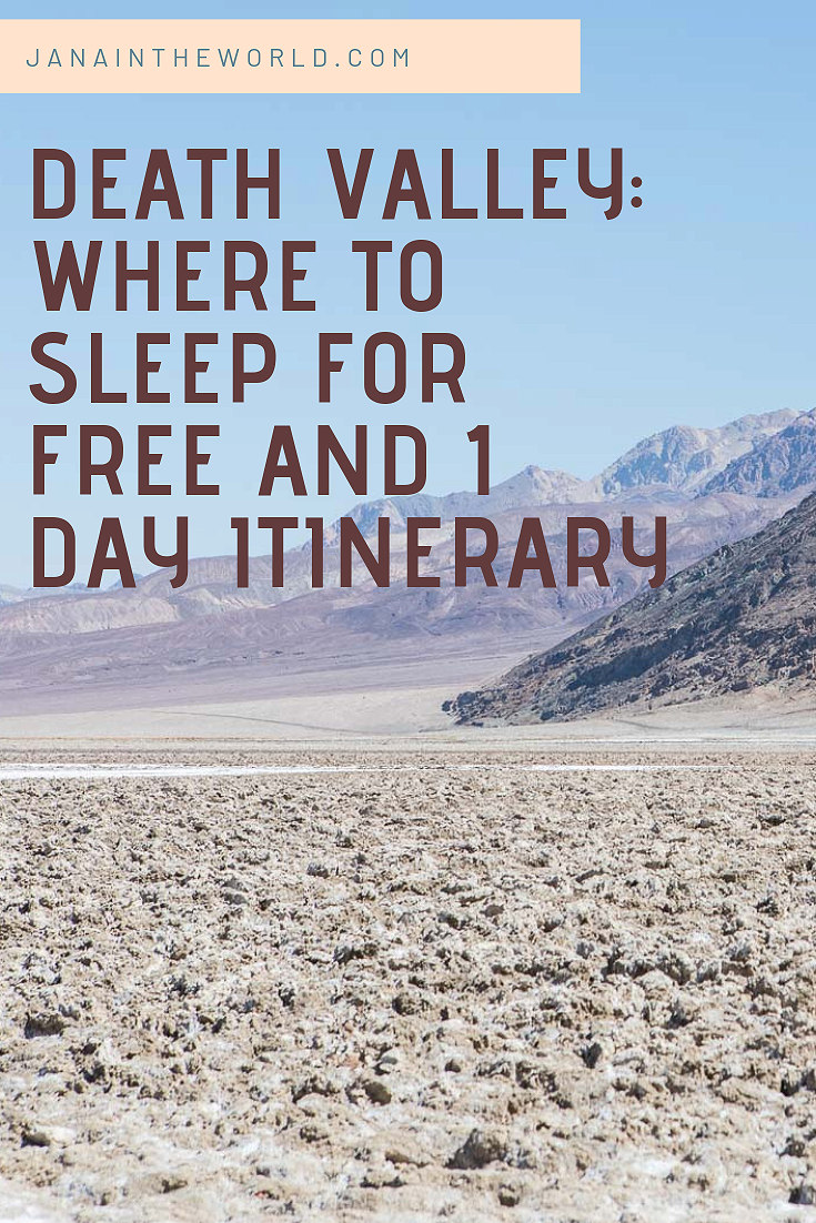Death Valley_ Where to Sleep for Free & 1 Day Itinerary