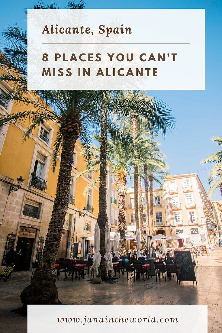 Alicante Guide Places