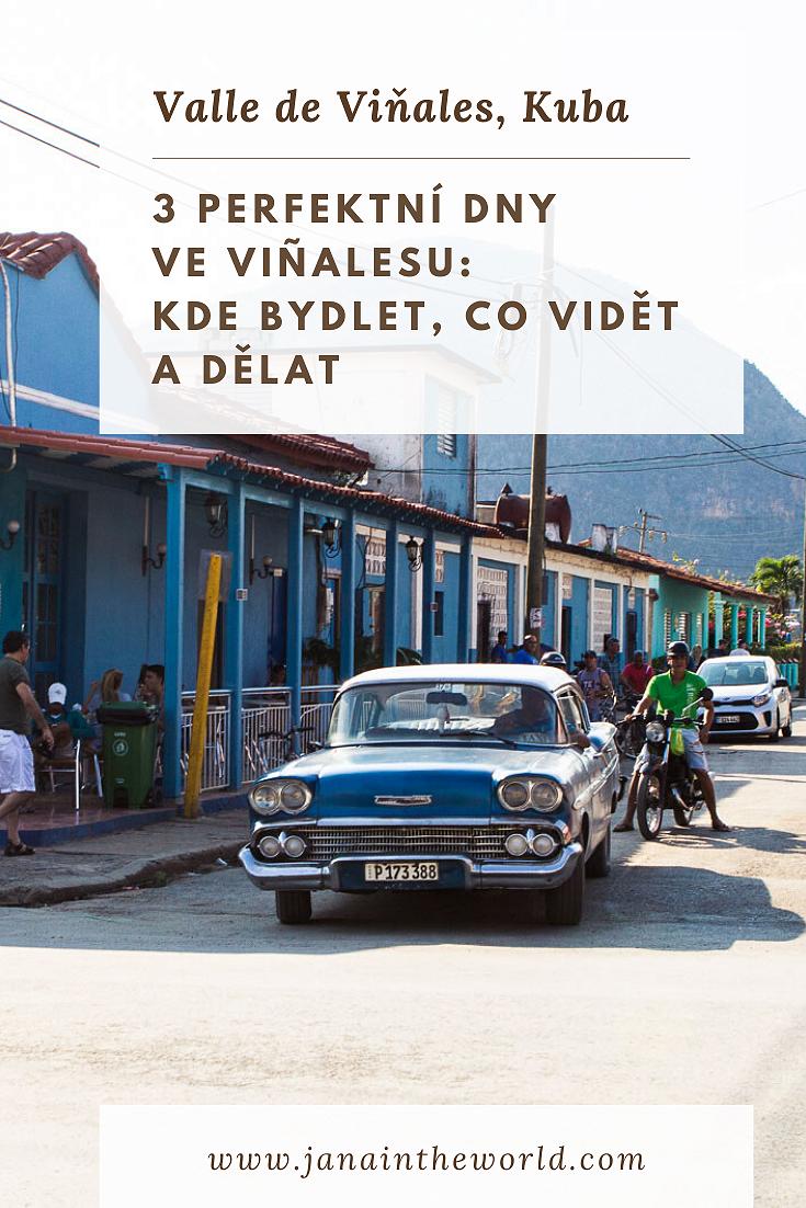 Valle de Viňales 3 dny itinerar