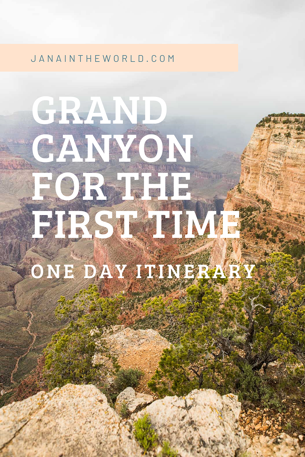 Grand Canyon for the first time_ one day itinerary