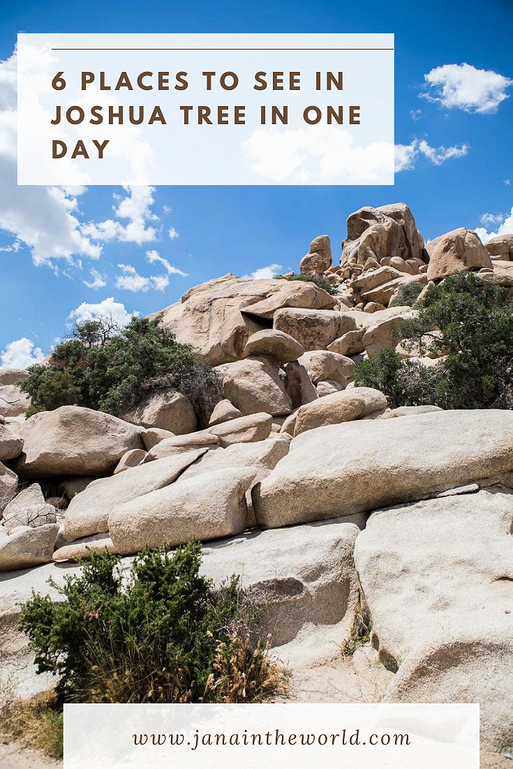 Joshua Tree itinerary for one day