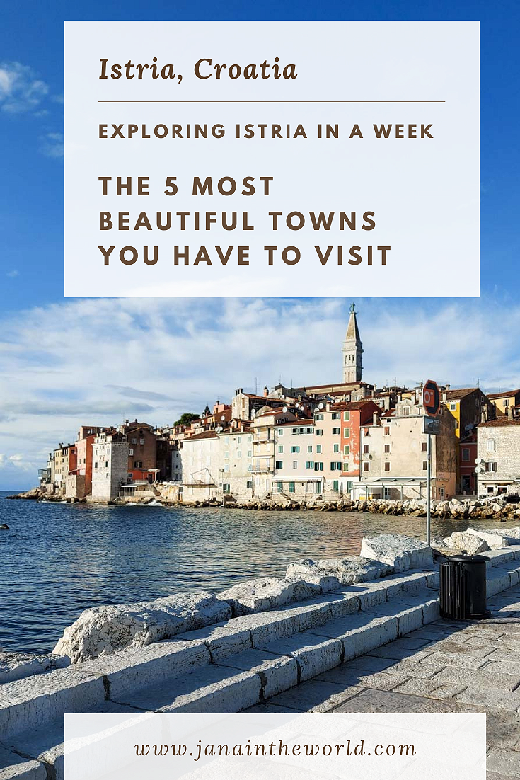 Eploring Istria in a week 5 most beautiful towns